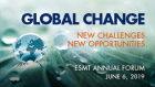 Global change. New challenges. New ooportunities.