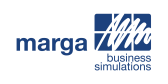 MARGA business simulations logo
