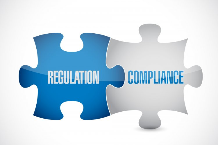 Regulation and compliance puzzle pieces